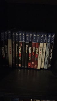 assorted Sony PS3 game cases Toronto, M8Z 0C5