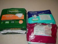 Adult Tab-Style Briefs/Diapers Lot  Fraser, 48026