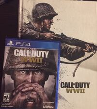 Call of duty WW2 with hard cover strategy guide book  629 mi