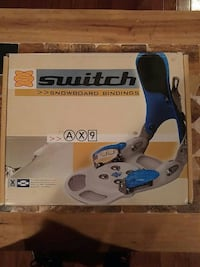 Switch snowboard step in bindings. Never used! Elkton, 21921