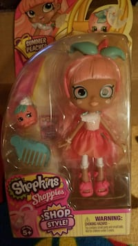 Shopkins shoppies shop style doll summer peaches Hazleton, 18201