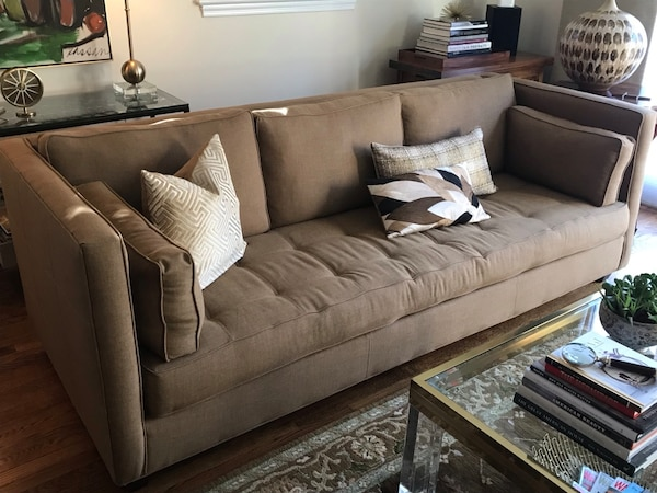 Long Taupe Sofa