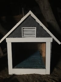 white and black wooden pet house National City, 91950