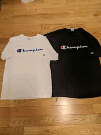 2 Champion Shirts One M One L, $29 each or $30 for both Edmonton, T5N 0T1