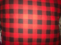 red and black plaid throw pillows