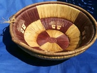 African Woven Basket Washington