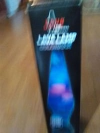 Lava lamp.  17 inch tall