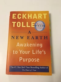 Book, softcover, A New Earth by Eckhart Tolle - Awakening to Your Life's Purpose 549 km