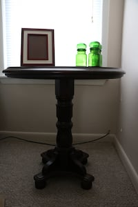 Antique wood side table Schenectady