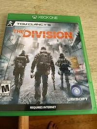 Tom Clancy's The Division Xbox One game case Dover, 19904