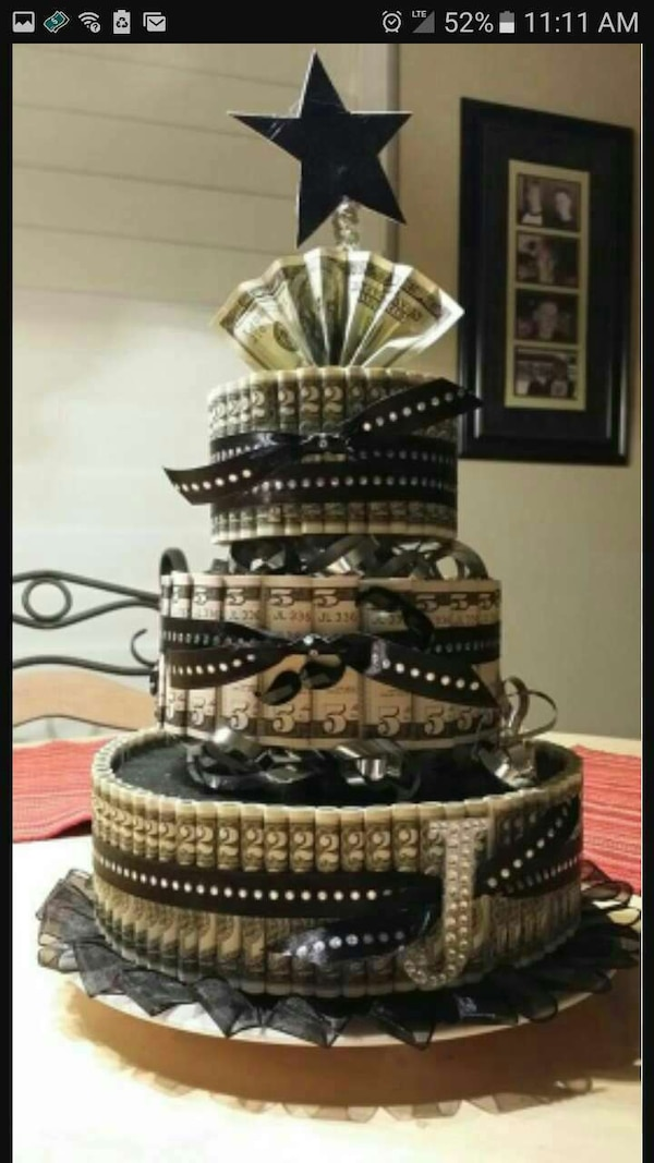 Used Custom Money Cake For Sale In Jonesboro Letgo