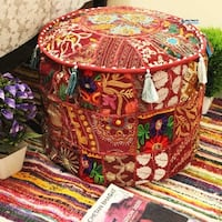 Authentic Moroccan pouf/ottoman