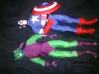 Captain America and green goblin Weston, 26452