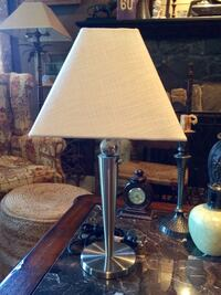 BRUSHED STEEL LAMP!! GREAT CONDITION  Baltimore, 21229