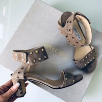 $1100 jimmy Choo studded sandals size 36 London, N5V 5J4