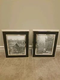 Set of 2 Picture Frames New Tecumseth