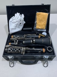 New in box. LaGrima Clarinet With Carrying Carrying Case West Chicago