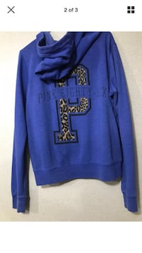 Firm on price like new vs pink hoodie large Hagerstown, 21742