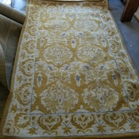 Gold Area rug  Tracy