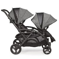 Contours options elite tandem stroller in graphite  2266 mi