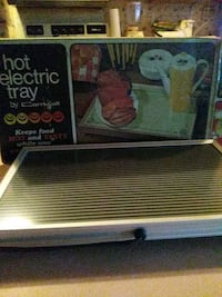 Food electric tray