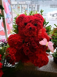 Hand made natural fresh rose bear Los Angeles, 90023