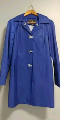 women's blue coat Caledonia, N3W 1A1