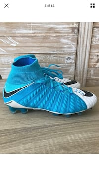 Nike Hypervenom Phantom III 3 DF FG Soccer Cleats Photo Blue Size M 5 Women 6.5 El Paso, 79925