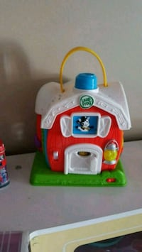 Leap frog barn toy