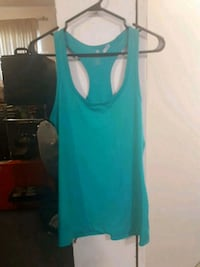 Womens active wear tank top