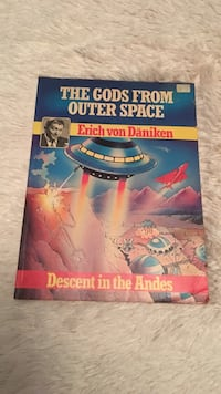The Gods From Outer Space comic book