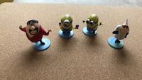 Minions Despicable Me- tiny figures Holiday, 34691
