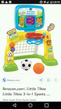 multicolored Little Tikes 3-in-1 sports center screenshot North York, M2N