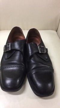 All black leather dress shoes size 44 Vaughan, L4L 6A9
