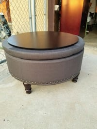 Brand New storage ottoman with wood coffee table  Moreno Valley, 92551