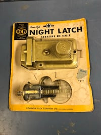 Door latch old style