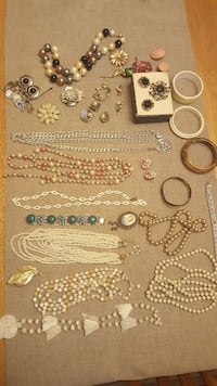 Costume jewelry, 4  Lots @ $25 each