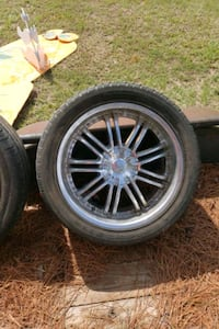 """22"""" rims 200 or best offer need them gone  Oklahoma City"""