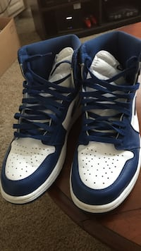 Blue-and-white Nike Air high tops Lenexa, 66215