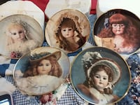 Hanau Doll Museum plates limited edition Clermont, 30527