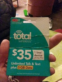 Total wireless phone card Louisville, 40208