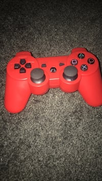 red Sony PS4 wireless controller Compton, 90221