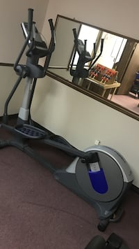 Gray and black pro-form elliptical trainer. Eastpointe, 48021