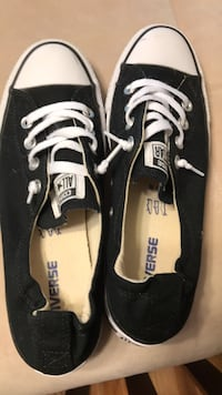 Pair of black-and-white low top sneakers Washington, 20024