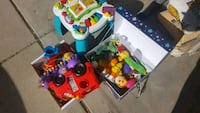 assorted-color plastic toy lot Thornton, 80241