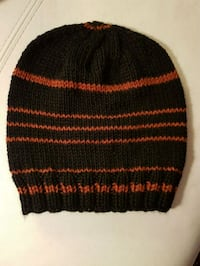 black and red knit cap Calgary, T3L 2B1