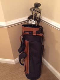 Golf clubs and case Crofton