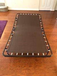 Foldable bed.no mattress.perfect for your guests and students  Arlington, 22201