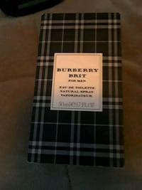 Burberry Classic perfume bottle with box