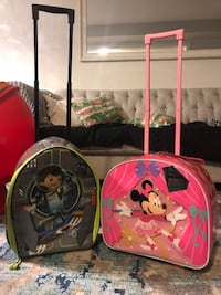 Children's suitcase luggage overnight bags